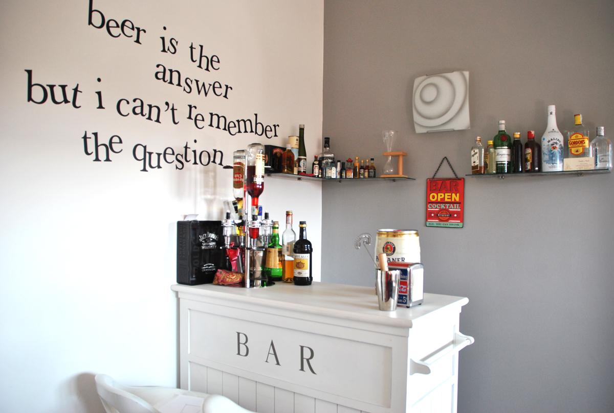 La casa di una che viaggia ovvero mysweettravelhome - Angolo bar a casa ...