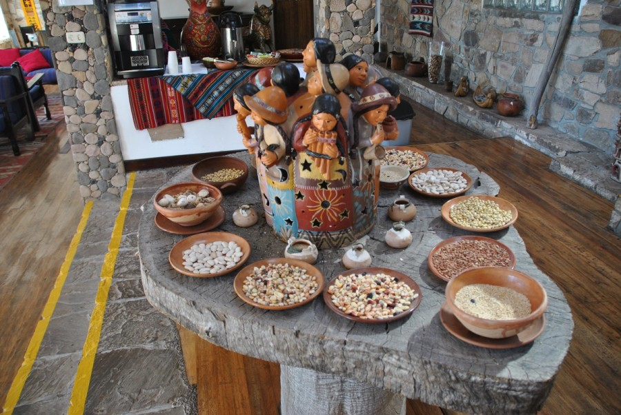 L'angolo Tisane alla Casa Andina