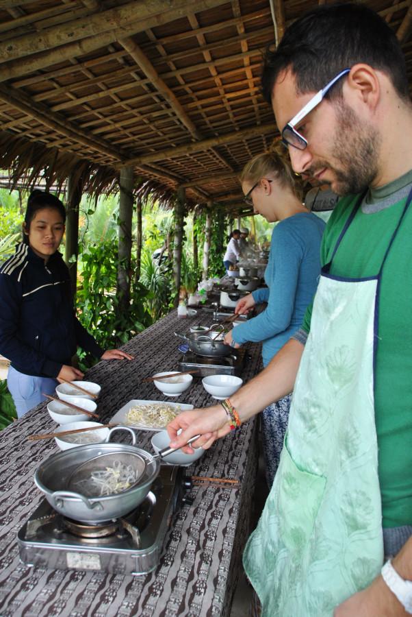 Cooking class vietnamita