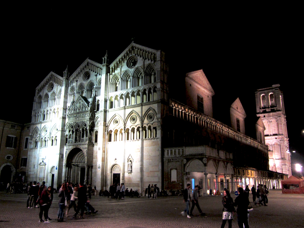 Ferrara by night