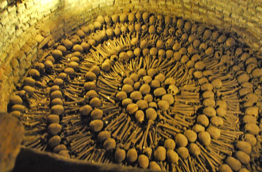 Monastero di S.Francesco, catacombe. Lima