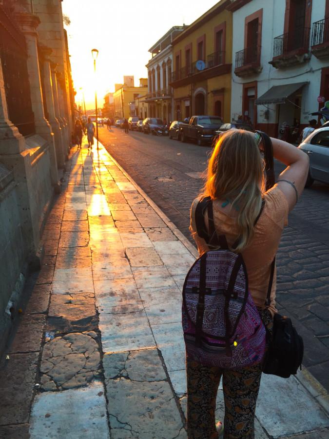 Behind a blogger - Oaxaca