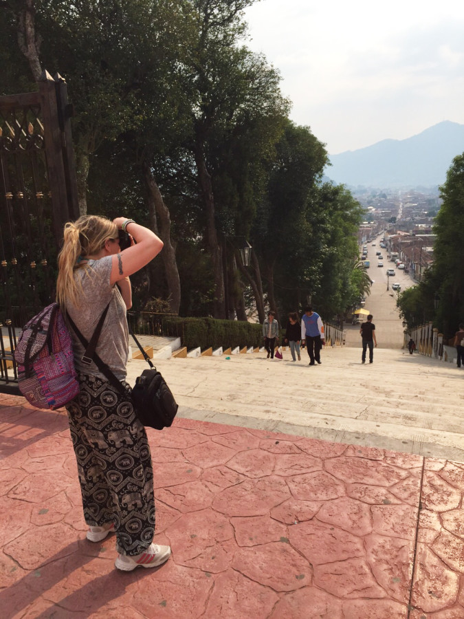 Behind a blogger - San Cristobal