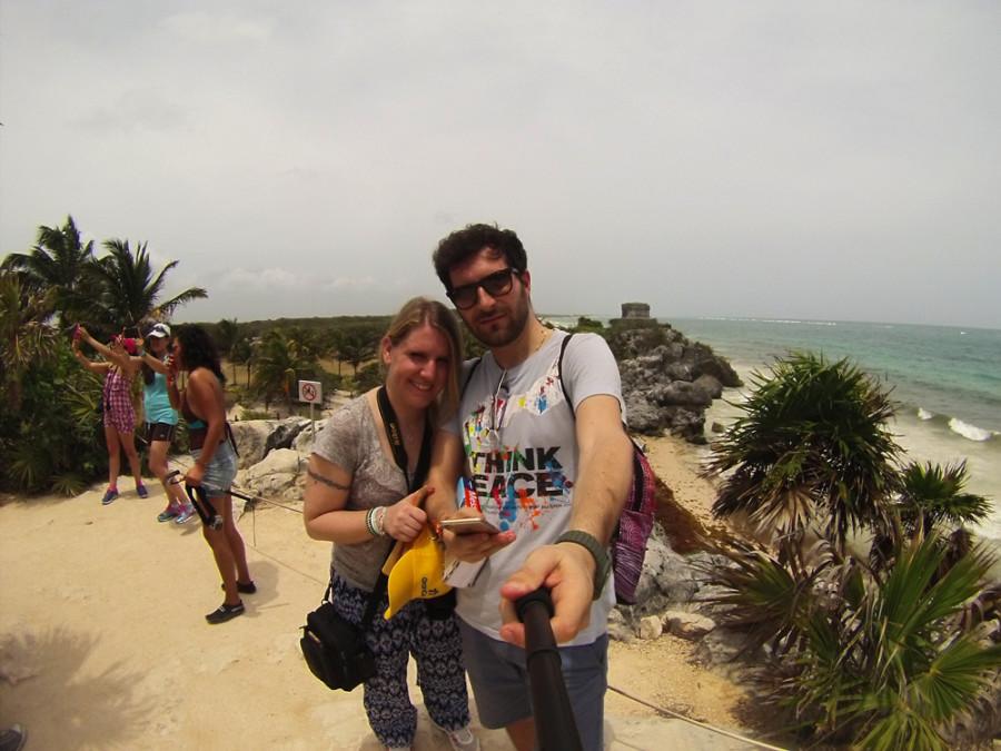 Selfie a Tulum
