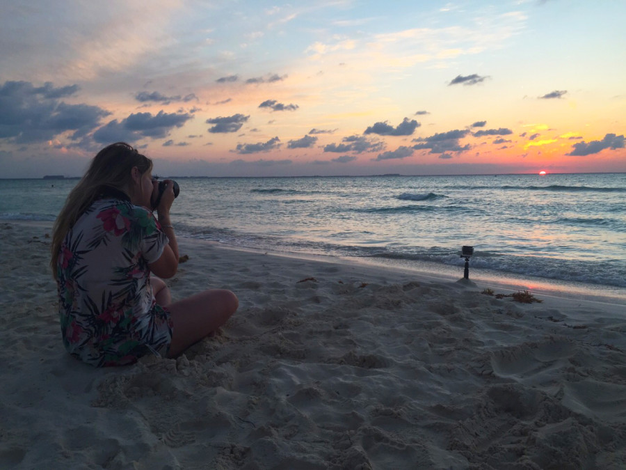 Behind a blogger - Isla Mujeres