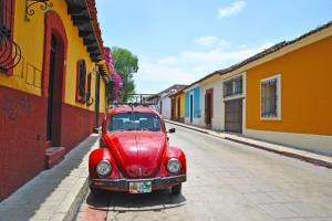 Le vie delle città coloniali messicane