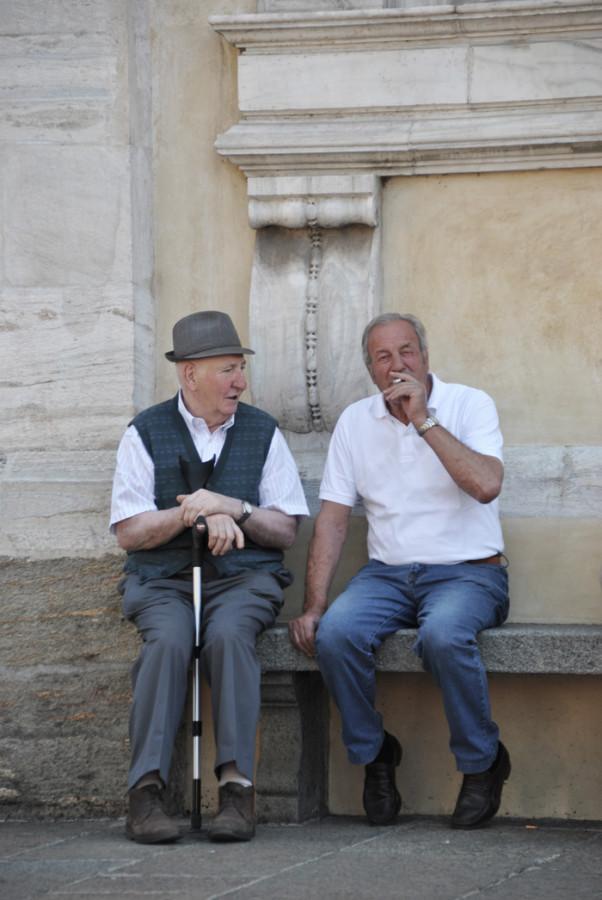 Nonnetti in Piazza a Tirano