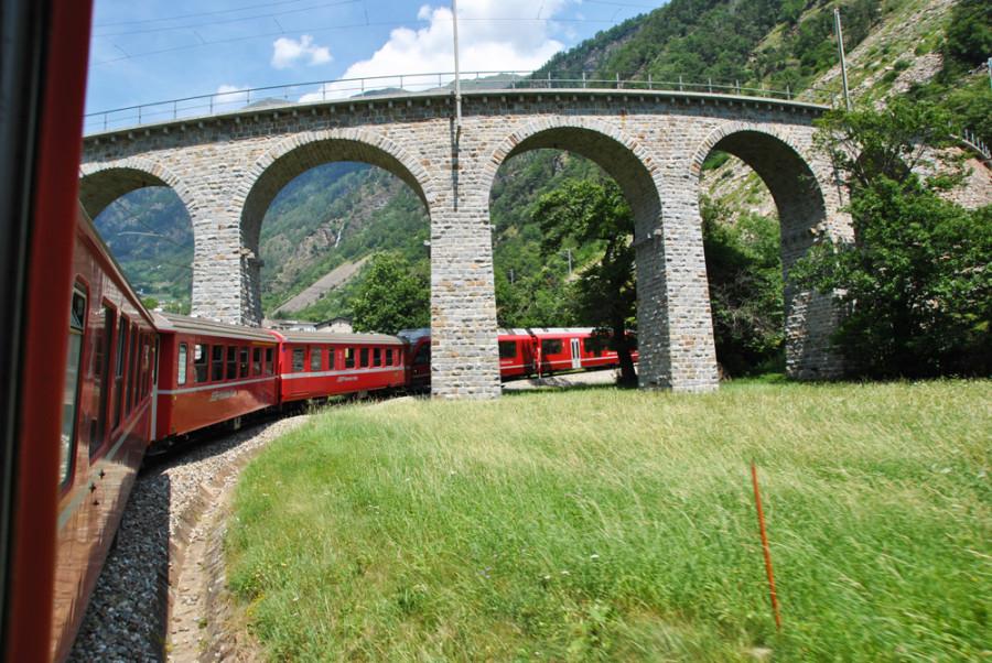 Viadotto elicoidale Bernina