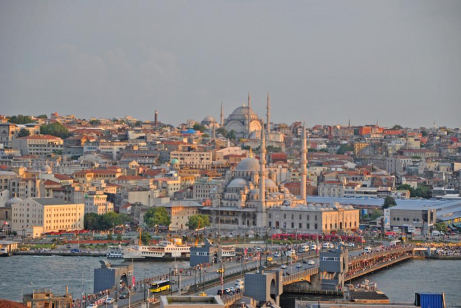 Istanbul dall'alto