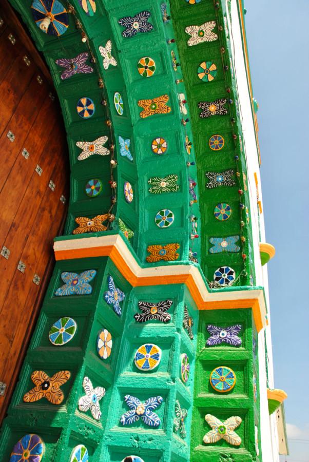 Le maioliche della Chiesa di San Juan Chamula