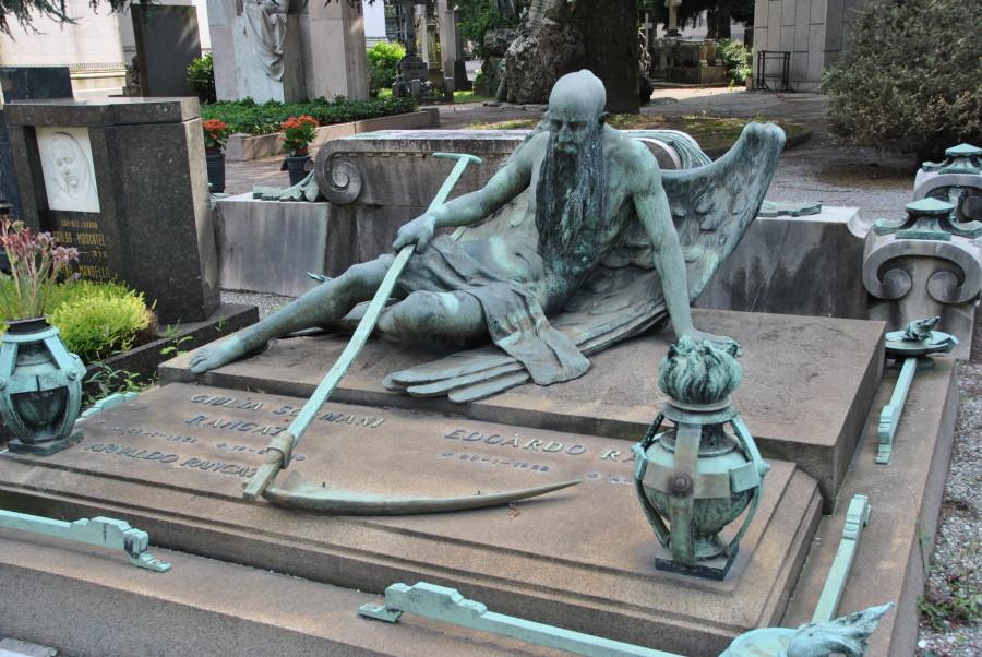 tombe inquietanti cimitero monumentale