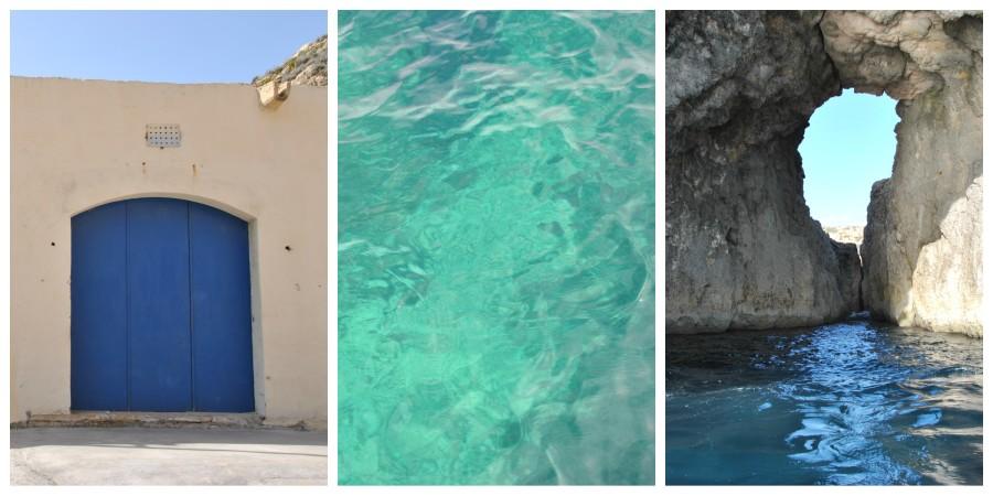 il blu di Malta