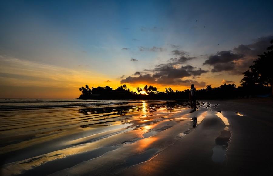 Beautiful Tropical Beach In Sri Lankavia shutterstock