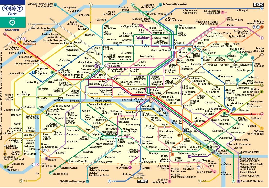 Cartina Mezzi Pubblici Parigi.Un Week End Con I Trasporti Pubblici A Parigi Di Qua E Di La Blog Di Viaggi E Vita Di Stefania Pozzi