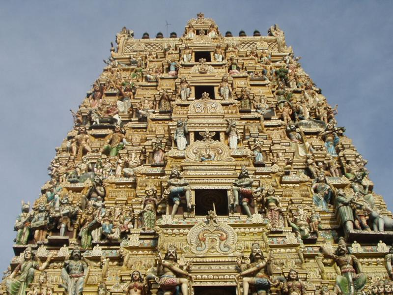 colombo tempio indù