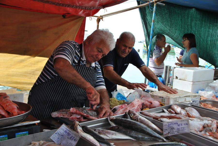 mercato pesce marsaxlokk
