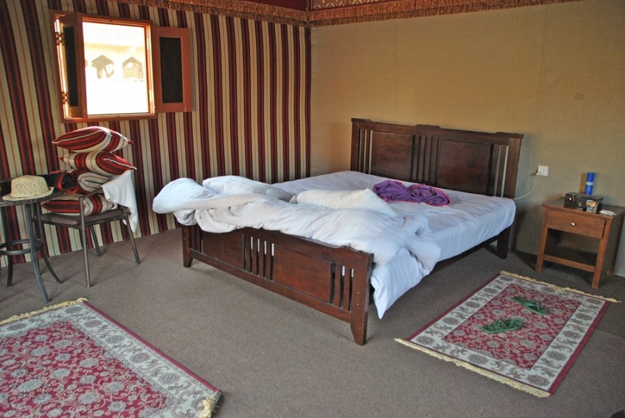 tenda beduina oman interno