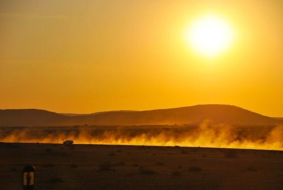 tramonto namibia
