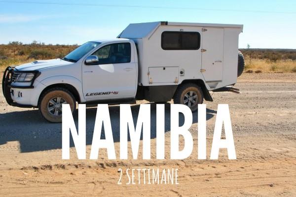 NAMIBIA ITINERARIO 2 SETTIMANE