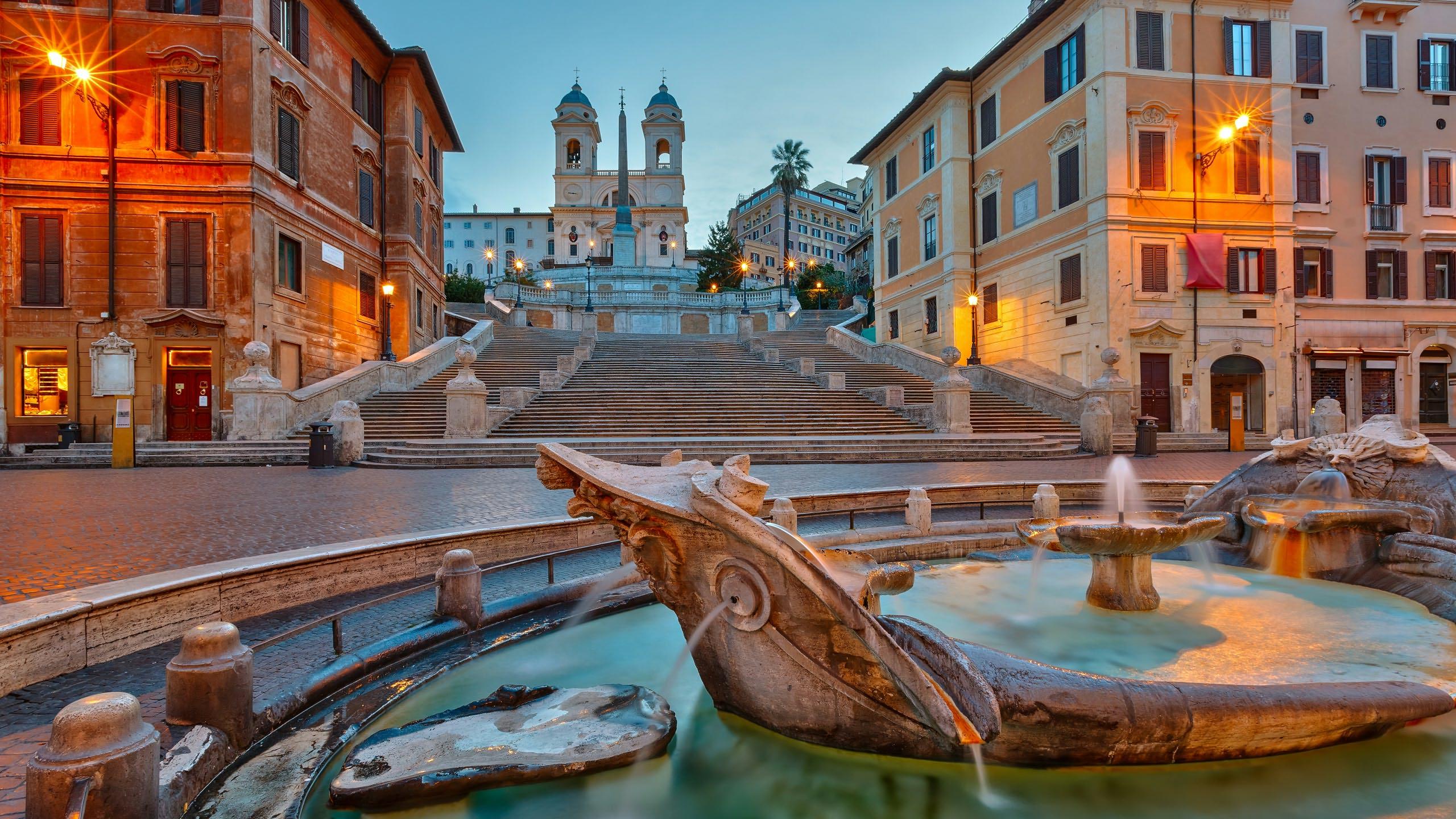 Dormire in Piazza di Spagna, a Roma | Di Qua e Di là di Stefania ...