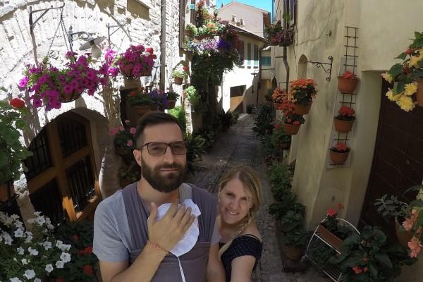 Tour Centro Italia con Neonato