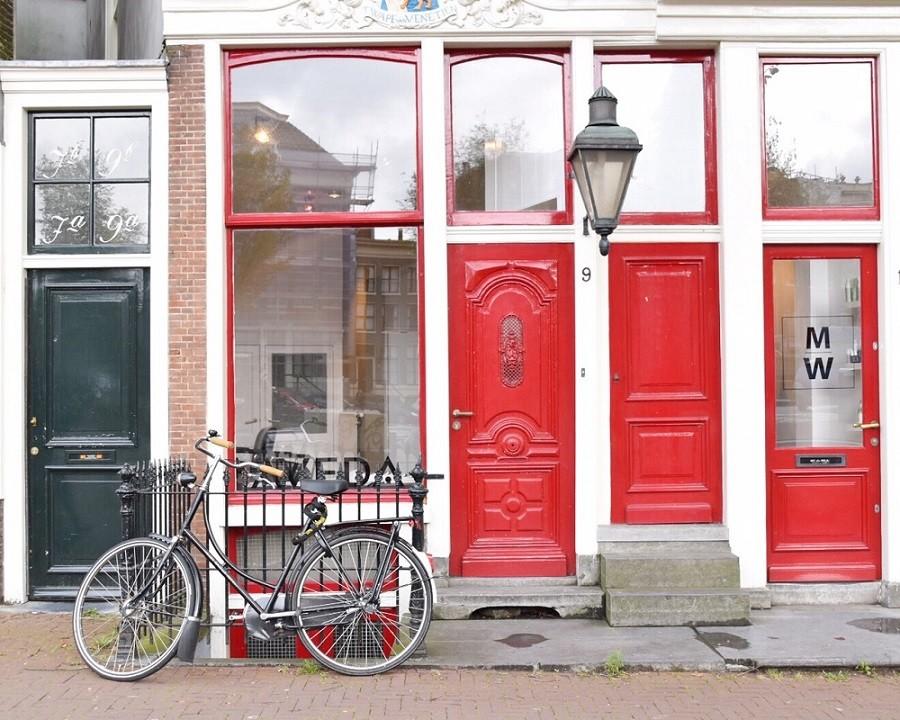 le nostre prime volte biciclette amsterdam