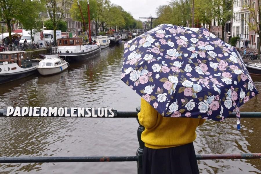 amsterdam pioggia