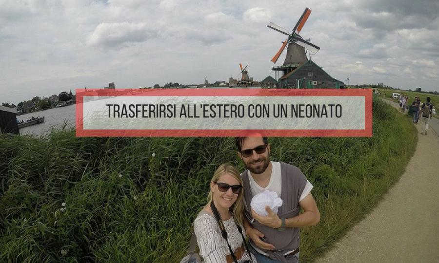 trasferirsi estero con neonato