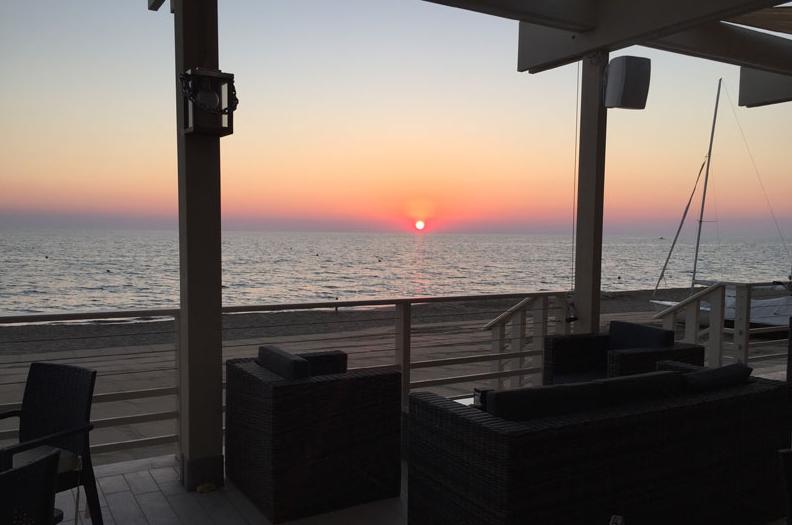 costa etruschi tramonto