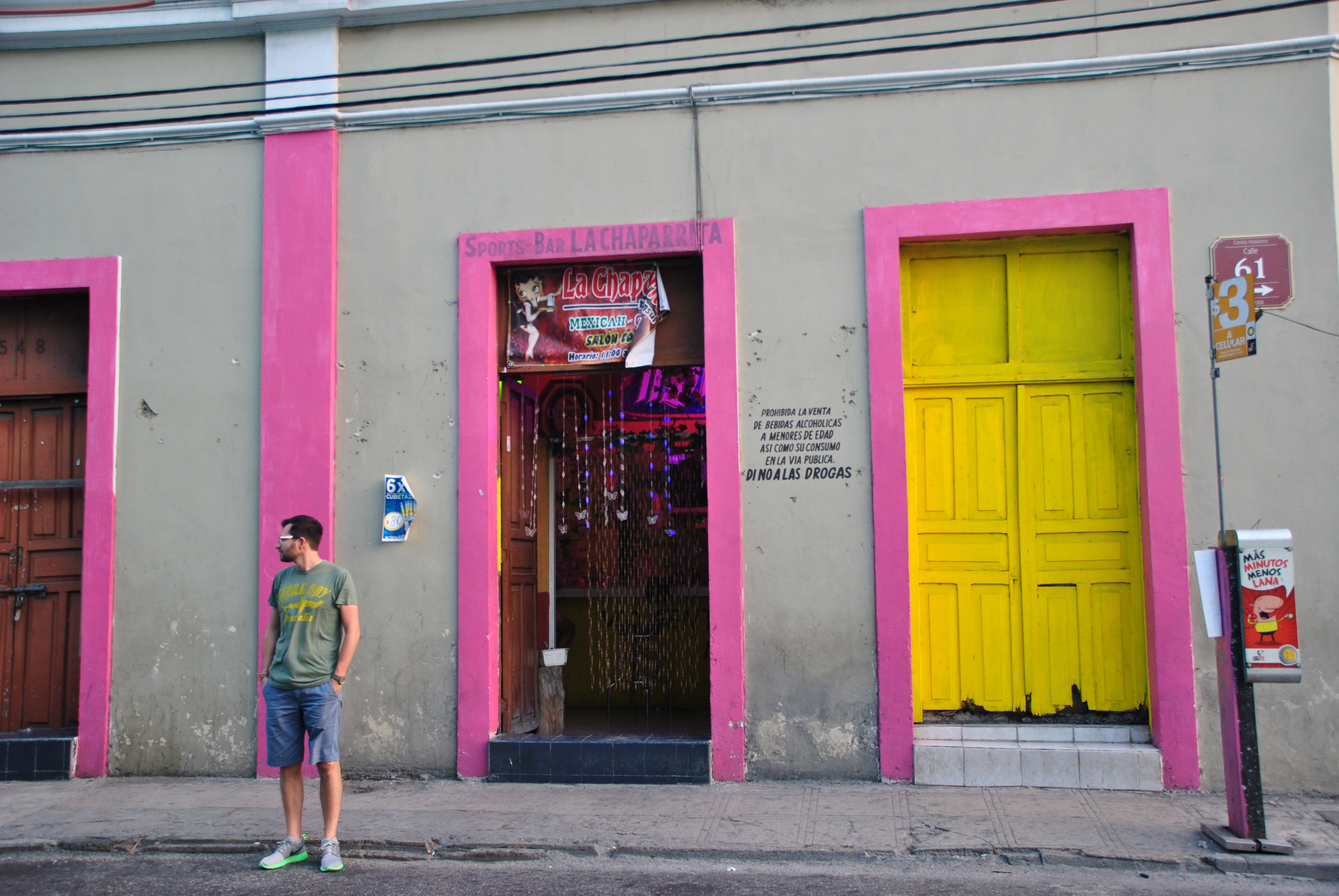 Sports bar la chaparrita Oaxaca